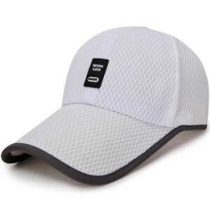 High-quality Adult Whole mesh Peaked Cap baseball cap