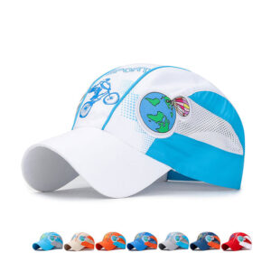Hot-air balloon style children's quick-dry baseball cap sport cap