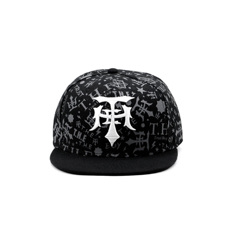 New type 3D embroidery snapback hat hip hop cap