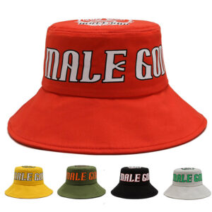 Cotton multicolor bucket hat