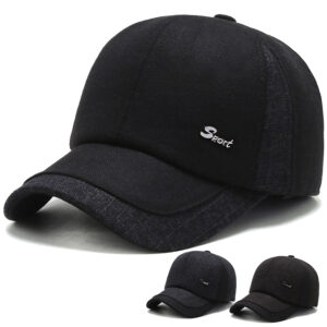Winter thick warm ear protection baseball cap